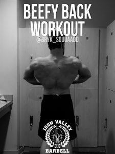 Beefy Back Workout – Jeromy Bryk