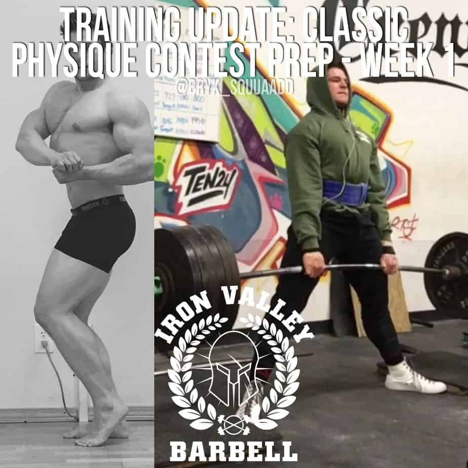 Training Update: Classic Physique Contest Preparation Week 1 – Jeromy Bryk