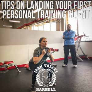 Tips On Landing Your First Personal Training Client – Alex Issa