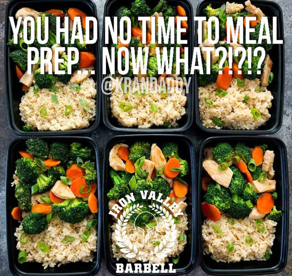 You Had No Time to Meal Prep… Now What?!?!? – Michael Kranak