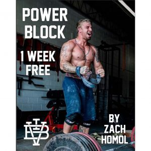 Power Block Ebook 1 Free Week