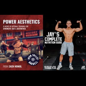 Power Aesthetics & Jay's Complete Nutrition Guide Combo