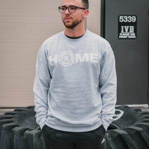 Gray Home Crewneck